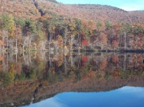 Lake Cheaha (photo by Virginia Kelly)