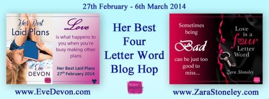 Banner 4 Letter Word hop