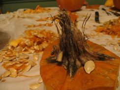 pumpkin carnage, my house 2014